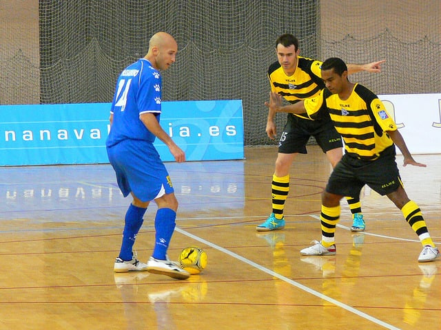 Drible no Futsal
