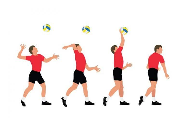 Fundamentos do Voleibol: Saque por cima