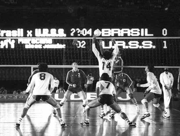 História do Voleibol: Brasil x União Soviética no Maracanã