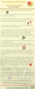 As 13 regras originais do Basquetebol