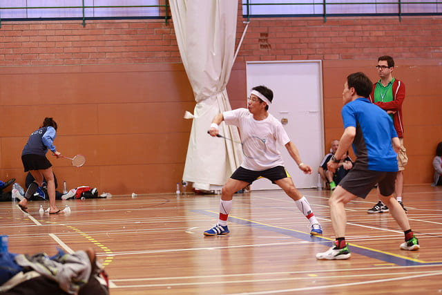 Fundamentos do Badminton: o drive
