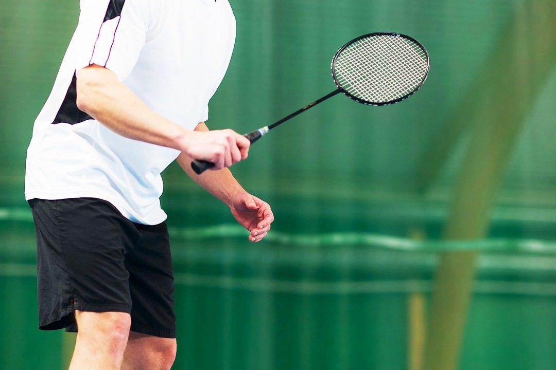 Servico badminton