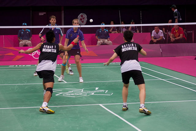 Badminton Regras e Fundamentos: Net-shot