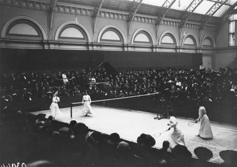 O primeiro campeonato de Badminton da História