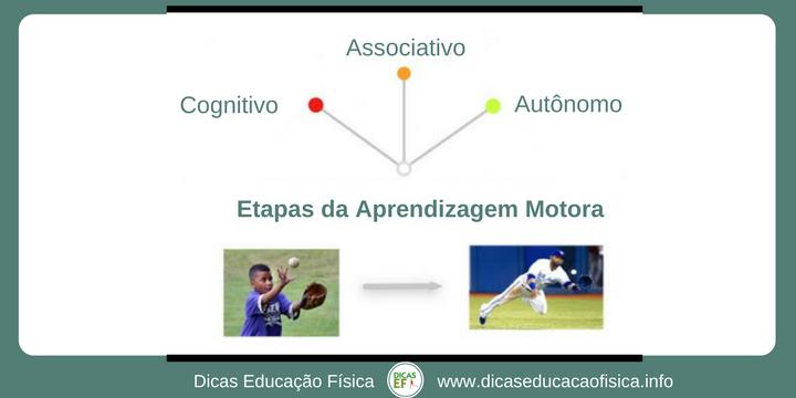 Estapas ou estágios da aprendizagem motora na abordagem pedagógica desenvolvimentista na Educação Física