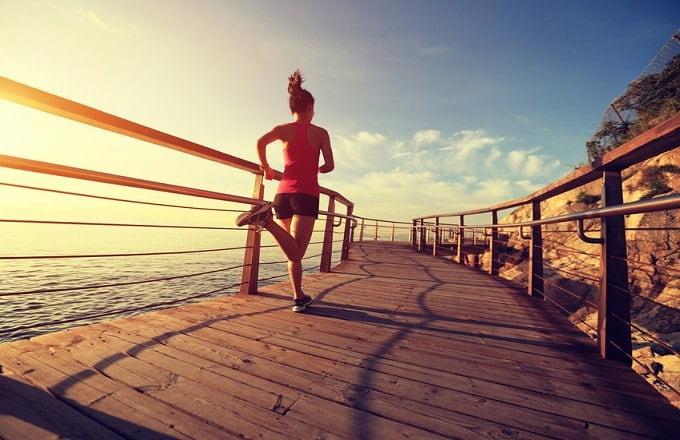 Exercícios para perder barriga rapidamente: a corrida