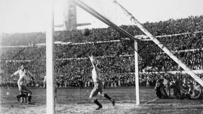 A primeira Copa do Mundo em 1930