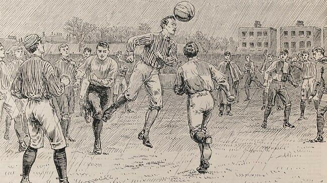 História do Futebol de Campo  Onde e Quando Surgiu     )    ccac159f8f219