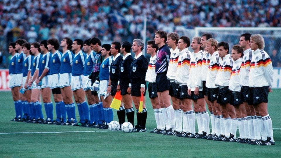 Copa do Mundo de 90 na Itália