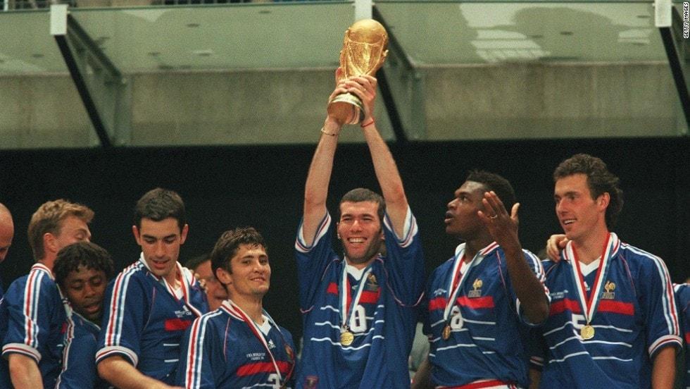 Copa do Mundo de 1998 na França e da França.